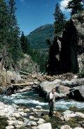 Luke in the creek
