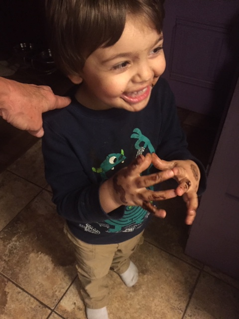 Milo and the Chocolate fight
