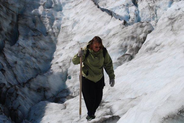 exhaustion at Fox glacier