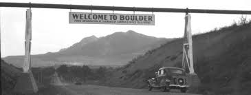 Boulder Welcome Sign